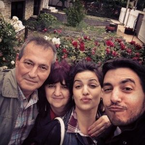 Natasa Stankovic with her family areal news