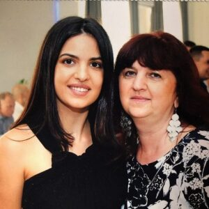 Natasa Stankovic and her mother areal news