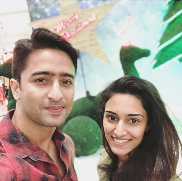 Shaheer and Erica Fernandes