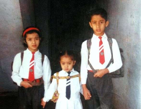 Shaheer Childhood Picture