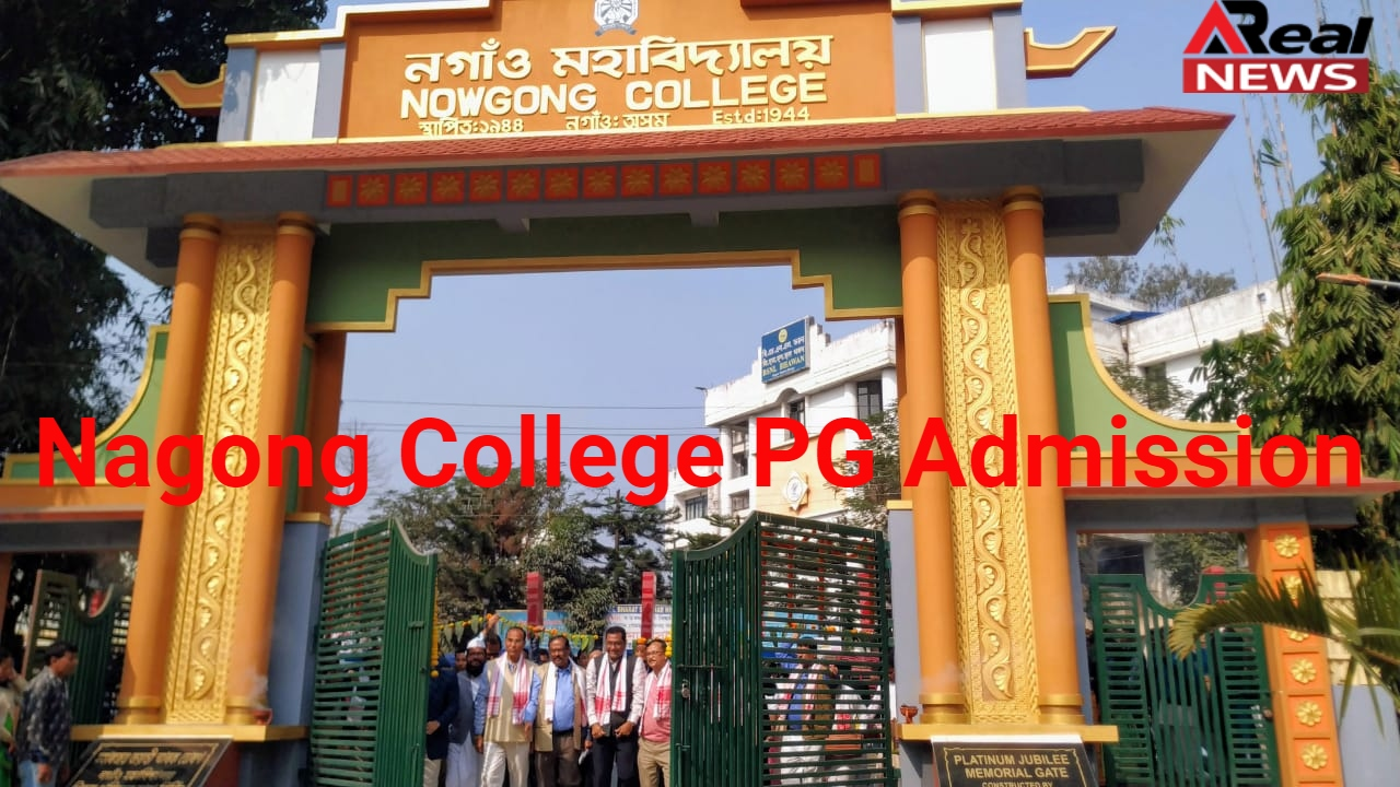 Nagong College PG Admission