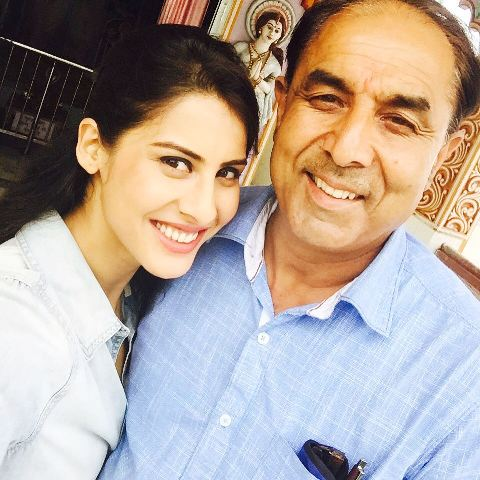 Sheetal Thakur With Her Father
