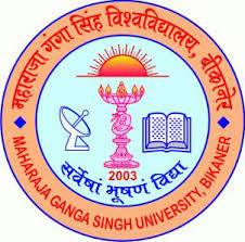 Maharaja Ganga Singh University Exam Form