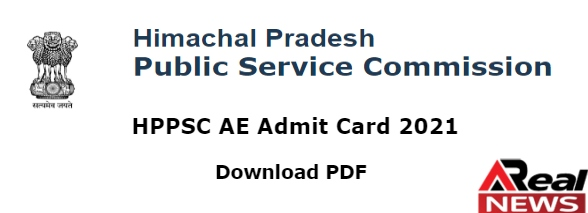 HPPSC Assistant Engineer Admit Card