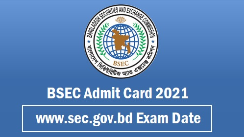 BSEC Admit Card