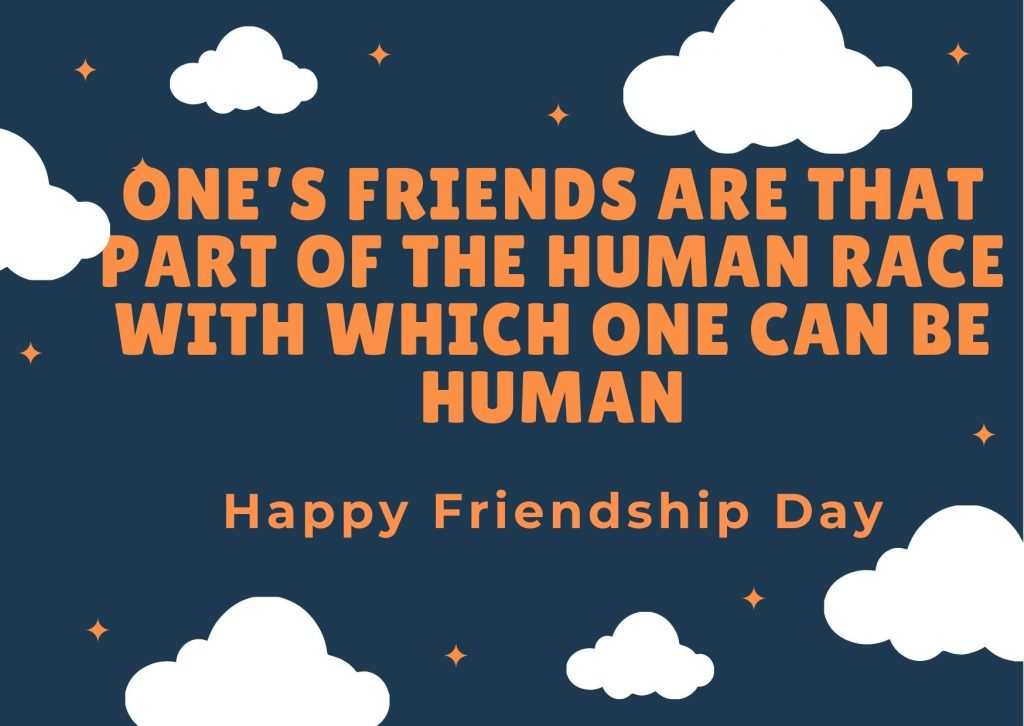 Blue Clouds Sky Happy Best Friend Day Card areal news
