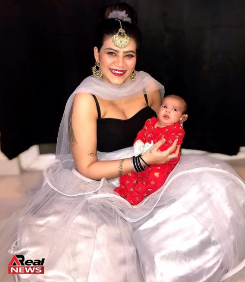 Anmol Chaudhary With Her Baby